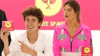 Learn Spanish in 5 Minutes!!   Juanpa Zurita & Hannah Stocking