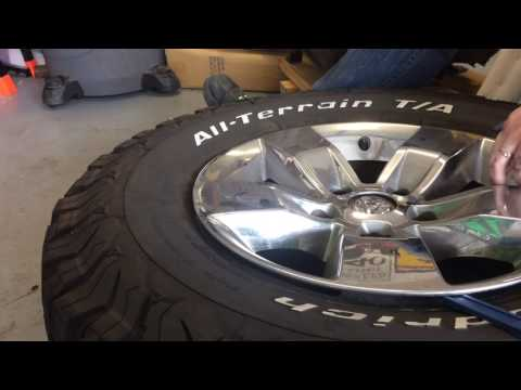 2014 Dodge Ram Wheel Cover Removal