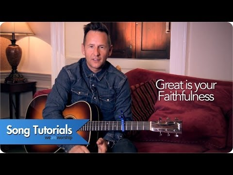Great Is Your Faithfulness - Youtube Tutorial Video