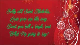 Barbie In a Christmas Carol | Jolly Old Saint Nicholas - Lyrics