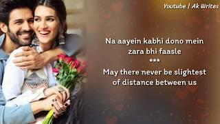 Duniya Lyrics With English Translation - Luka Chuppi | Kartik