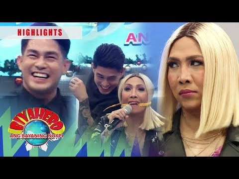 Ion makes fun of Vice | It's Showtime BiyaHERO