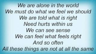 Marillion - If My Heart Were A Ball It Would Roll Uphill Lyrics