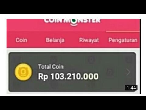 Video Terbaru Trik Hack Coin Monster Dapatkan Koin Banyak Hanya 5 Menit