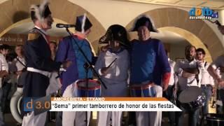 dotb Sema, Tamborrero de honor Amorebieta-Etxano 21/07/2017