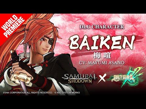 ?EU?BAIKEN?SAMURAI SHODOWN × GUILTY GEAR –DLC Character de Samurai Shodown