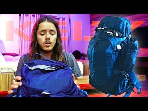Nuovo zaino da backpacker perfetto per viaggiare!