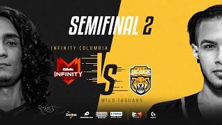 Infinity Esports Colombia VS Wild Jaguars | Semifinales | Golden League Clausura - Playoffs | Mapa 2