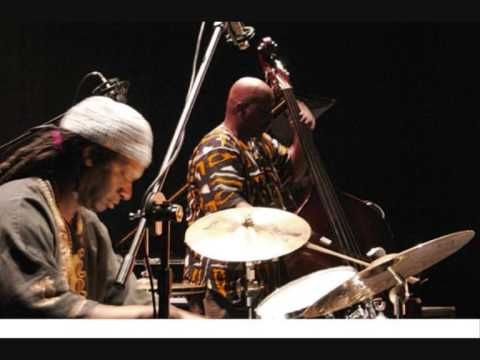 free jazz bass & drums