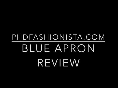 Meal Reflections and My New Hobby – Cooking Video Review with Blue Apron