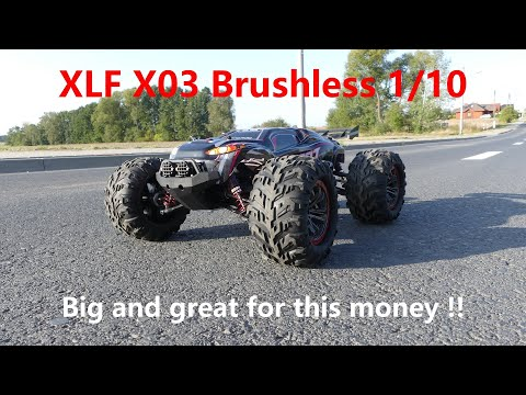 XLF X03 Brushless 1/10 - Big and great for this money !!
