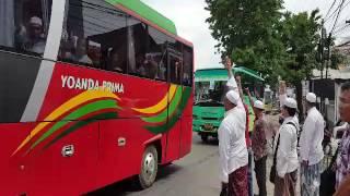 FPI Palembang Menuju Jakarta
