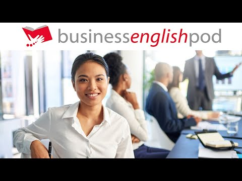 Business English Lesson 1 - Business English for Meetings   Business English Conversation