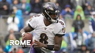 Lamar Jackson Is Spectacular!  | The Jim Rome Show