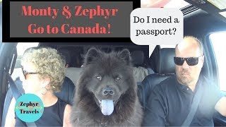 Crossing the Border in to Canada with Dogs   ZEPHYR TRAVELS - RV Lifestyle Video