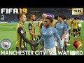 FIFA 19 (PC) Manchester City Vs Watford | PREMIER LEAGUE PREDICTION | 9/3/2019 | 4K 60FPS