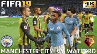 FIFA 19 (PC) Manchester City Vs Watford   PREMIER LEAGUE PREDICTION   9/3/2019   4K 60FPS