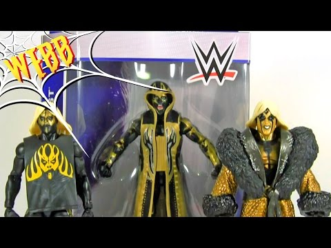 WWE Elite 36 GOLDUST Action Figure Review & Comparison