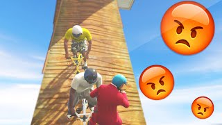 """MEGA RAMP RAGE!"" (GTA 5 Funny Moments)"