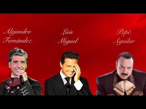 Alejandro Fernández, Luis Miguel y Pepe Aguilar (Cielo Rojo)