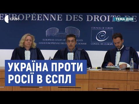 Україна проти Росії в ЄСПЛ | Бабін, Яковлєв | Суспільне Крим