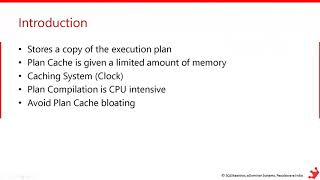 Plan Caching & Recompilation in SQL Server by Amit Bansal
