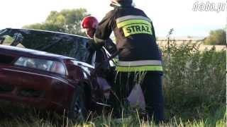 preview picture of video 'Dachowanie na drodze Bielawa - Pieszyce'
