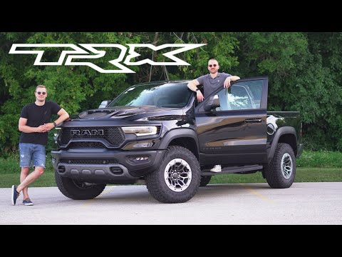 Ram TRX Review - The Truck With The Hellcat Motor & Mercedes Interior