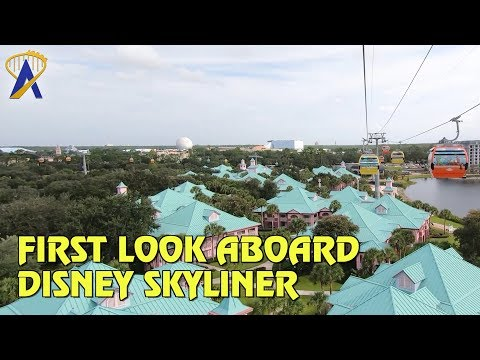 First Look Aboard Disney Skyliner Gondolas at Walt Disney World Resort