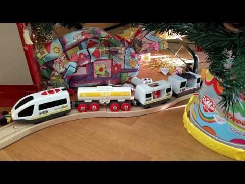 Treno, Ferrovia e Parcheggio multipiano LIDL - Regali di Natale Playtive Junior