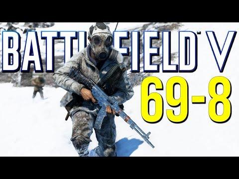 Battlefield 5: 69-8 Beastly Teamwork! (Battlefield V Multiplayer Gameplay)