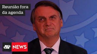 Bolsonaro reúne ministros no Palácio do Planalto em possível reunião sobre vacinas