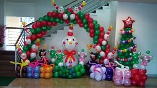 BALLOON DESIGNS FOR CHRISTMAS!