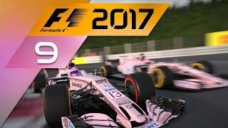 F1 2017 Karriere (1) #09 - WETTERWECHSEL [4K][Deutsch]