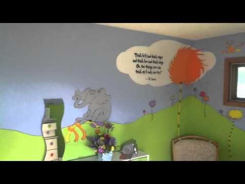 Owen's Dr. Seuss room