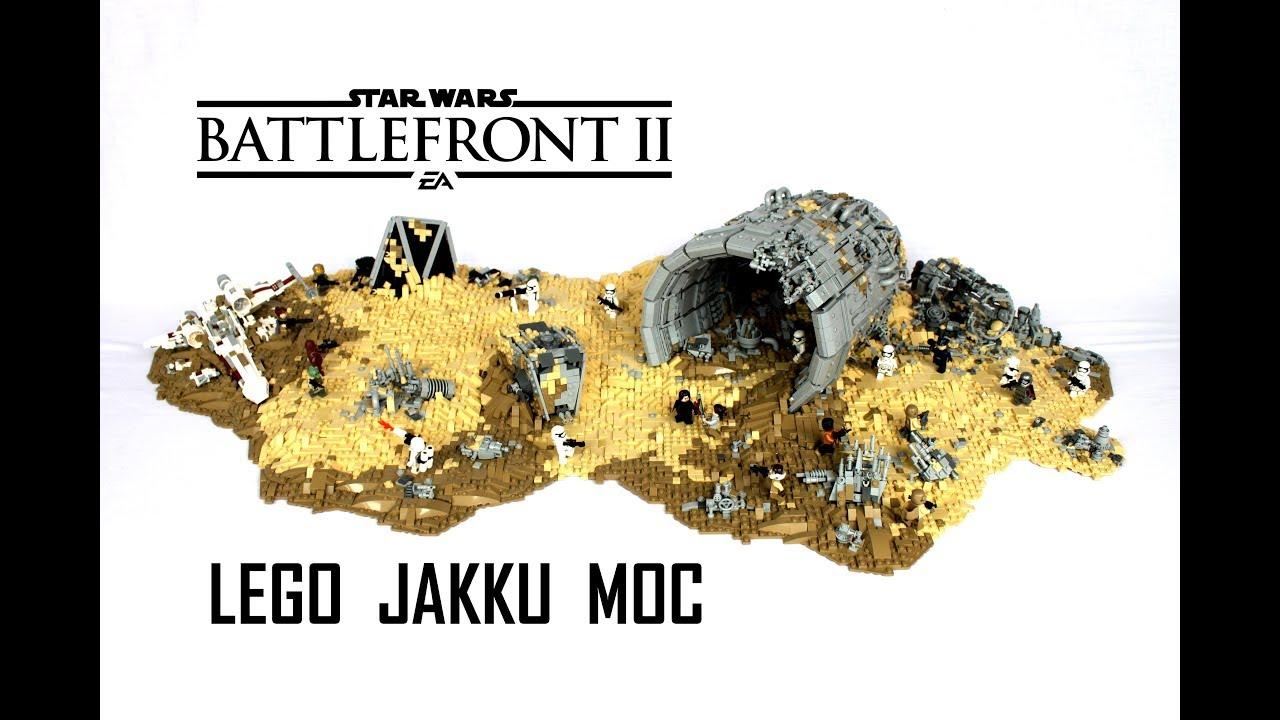 LEGO Star Wars Battlefront 2 Jakku MOC / Galactic Assault LEGO MOC