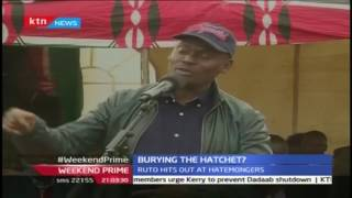 Ruto and Kabogo bury the hatchet as they share a podium in Kuresoi North in Nakuru County