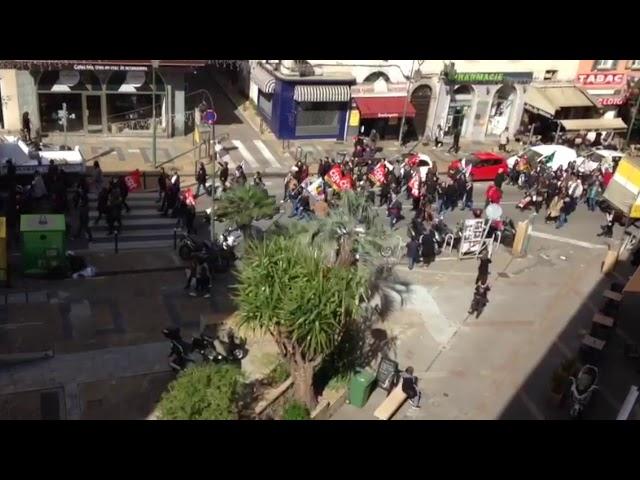 VIDEO. La grogne des syndicats en Corse