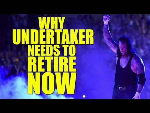 Real Reasons Why The Undertaker Needs To Retire from WWE Now!