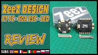 Zeez Racing Combo (F7 FC, 60A ESC, LED) - Review