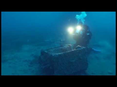 Wracktauchgang HM Submarine Perseus, Mavrata,Kefalonia,Griechenland