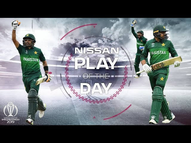 Nissan Play of the Day | New Zealand vs Pakistan | ICC Cricket World Cup 2019