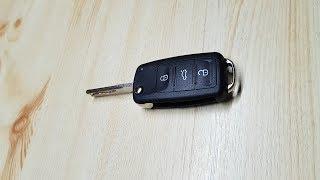 VW Audi Seat Skoda. Klappschlüssel reparatur. Cover tauschen. Schlüssel abgegriffen oder defekt.