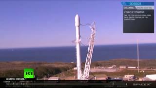 Первый после сентябрьской аварии запуск ракеты-носителя Falcon 9