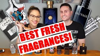 Top 10 Best Fresh Fragrances / Colognes Judged By Michelle!