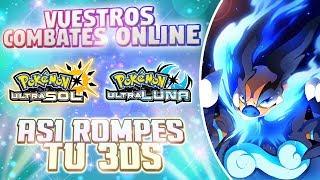 POR CULPA De ESTO PODRÍAS ROMPER Tu NINTENDO 3DS! COMBATE EQUIPOS MIXTOS POKÉMON ULTRASOL/ULTRALUNA