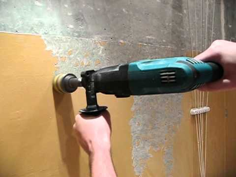 Как удалить масляную краску со стен