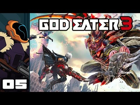 Let's Play God Eater 3 - PC Gameplay Part 5 - Fear The Woodsman!