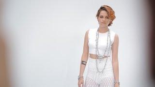 Лили Коллинз, Celebrity Interviews - Fall-Winter 2014/15 Haute Couture CHANEL Show