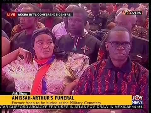 Burial Service Of The Late Amissah-Arthur - AM Show on JoyNews (27-7-18)
